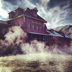 Photo taken at Glenwood Hot Springs by Colleen H. on 1/17/2013