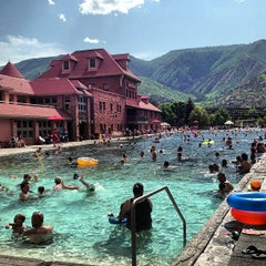 Photo taken at Glenwood Hot Springs by Colleen H. on 7/4/2013