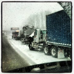 Photo taken at I-90 Exit 35 - PA-531 Harborcreek Phillipsville by Bigger on 1/31/2013