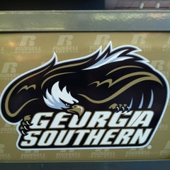 Photo taken at Georgia Southern Bookstore by Chip M. on 11/2/2012