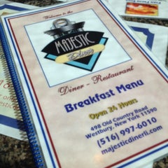 Photo taken at Majestic Diner by Patrick M. on 9/30/2013