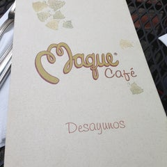 Photo taken at Maque by Clara M. on 7/14/2013