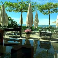 Photo taken at Dolder Grand Garden Restaurant by Chatchai T. on 5/8/2015