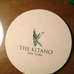 Photo taken at The Kitano New York Hotel by Shunji N. on 1/15/2013