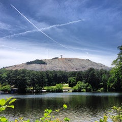 Photo taken at Stone Mountain Park by Henry M. on 5/25/2013