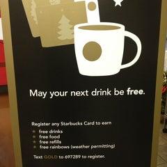 Photo taken at Starbucks by Jenny B. on 12/27/2012