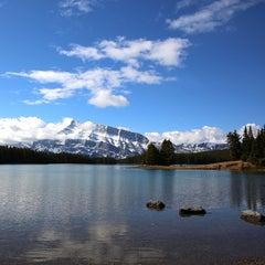 Photo taken at Banff National Park by Tianjun Y. on 5/4/2013