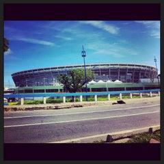 Photo taken at Itaipava Arena Fonte Nova by Paloma V. on 7/3/2013