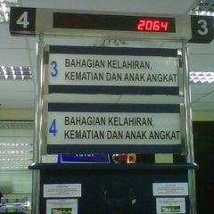 Photo taken at Jabatan Pendaftaran Negara Selangor by Rozailan R. on 2/6/2013