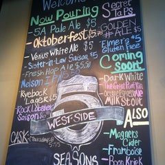 Photo taken at 5 Seasons Brewing by The Foodie ATL on 10/17/2012