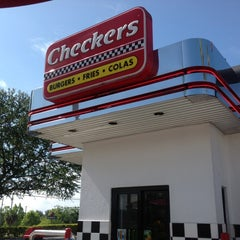 Photo taken at Checkers by Donald S. on 6/1/2013