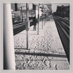 Photo taken at CTA - Bryn Mawr by Tyler F. on 4/20/2013