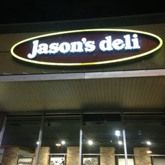Photo taken at Jason's Deli by Tom D. on 4/25/2013