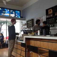 Photo taken at Matching Half Cafe by Lola C. on 3/30/2013