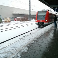 Photo taken at S20 Pasing - Deisenhofen by Sven Philipp A. on 2/15/2013