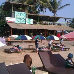 Photo taken at Anjuna Beach by Yulia Z. on 2/3/2013