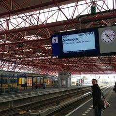 Photo taken at Station Almere Centrum by Milan K. on 3/17/2013