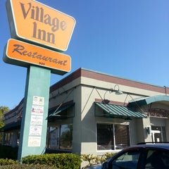 "Photo taken at Village Inn by WILFREDO ""WILO"" R. on 3/9/2013"