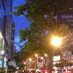 Photo taken at ถนนคอนแวนต์ (Convent Road) by Aquapatindra V. on 5/20/2015