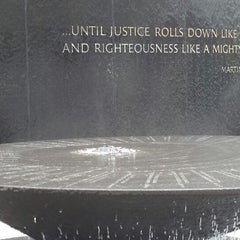 Photo taken at Civil Rights Memorial Center (SPLC) by Ashley M. on 6/26/2014
