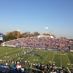 Photo taken at Foreman Field at S.B. Ballard Stadium by John S. on 12/1/2012