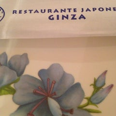 Photo taken at Ginza by MCarmen S. on 4/5/2014