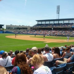 Photo taken at Harbor Park by Chris P. on 5/27/2013