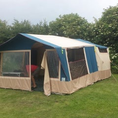 Photo taken at Scarborough Camping and Caravanning Club by Richard L. on 7/2/2014