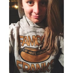 Photo taken at Famous Franks by Bailey H. on 11/8/2014