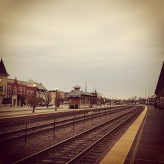 Photo taken at Metra - Elmhurst by Chris H. on 4/14/2013
