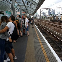 Photo taken at Shadwell DLR Station by Carbo K. on 7/28/2013