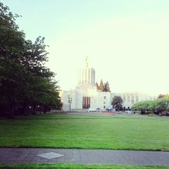 Photo taken at Downtown Salem by Gary on 4/30/2014