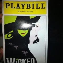 Photo taken at Gershwin Theatre by Meka O. on 9/30/2012