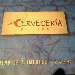 Photo taken at La Cervecería de León by Ana S. on 3/2/2013