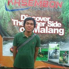 Photo taken at Kasembon Rafting by Fariz A. on 5/20/2013