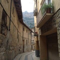 Photo taken at Monistrol de Montserrat by EnergySupport E. on 8/21/2014