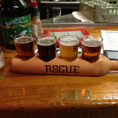 Photo taken at Rogue Brewers on the Bay by Avery S. on 12/15/2012