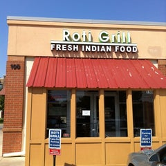 Photo taken at Roti Grill by Silas B. on 9/22/2012