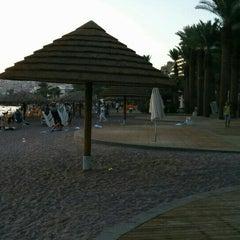 Photo taken at Northen Beach (החוף הצפוני) by Peter B. on 9/26/2015