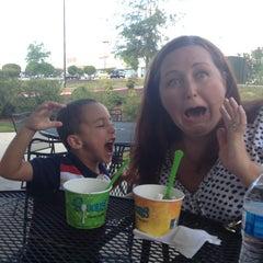 Photo taken at Spoons Yogurt by Kerri C. on 8/25/2013
