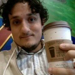 Photo taken at Caribou Coffee by Diego R. on 3/28/2014