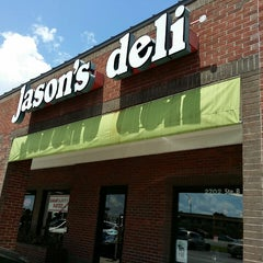 Photo taken at Jason's Deli by John K. on 4/12/2014