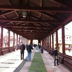 Photo taken at Ponte degli Alpini by Federica C. on 3/16/2013