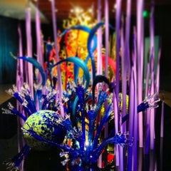 Photo taken at Chihuly Collection by Matthew G. on 8/4/2013