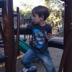 Photo taken at Springwoods Park by Carmilla B. on 10/25/2014