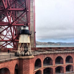 Photo taken at Fort Point National Historic Site by Eiji A. on 6/15/2013