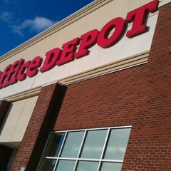 Photo taken at Office Depot by AJ J. on 2/28/2013