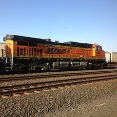 Photo taken at BNSF Tacoma Yard by Crystal S. on 3/24/2014