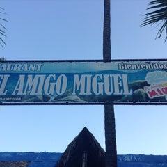 Photo taken at El Amigo Miguel by Manuel M. on 2/4/2013