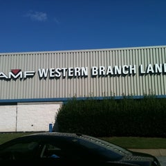 Photo taken at AMF Western Branch Lanes by Gilbert S. on 9/23/2012